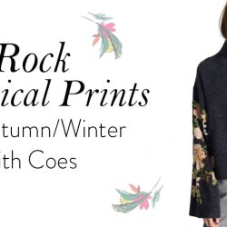 Rock Botanical Prints this Autumn